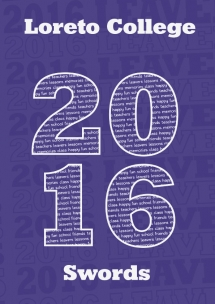 2016 Yearbook Cover Design